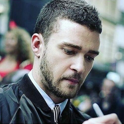 50 penteados Justin Timberlake