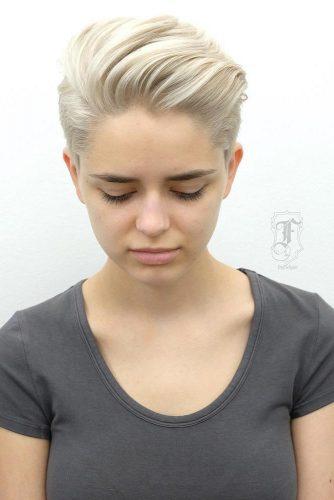 Penteado de rosto redondo Top 10 legal para meninas