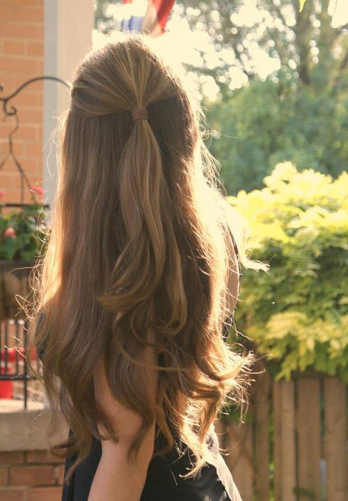 10 idéias de penteado Ftching para cabelos longos