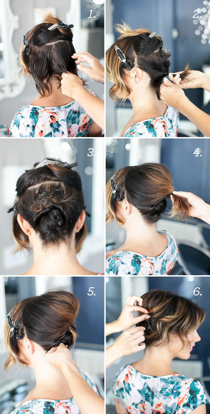 Inspiradormente fantástico fácil sopro passo a passo penteado idéias