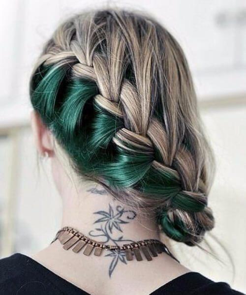 cabelo de sereia esmeralda escondida
