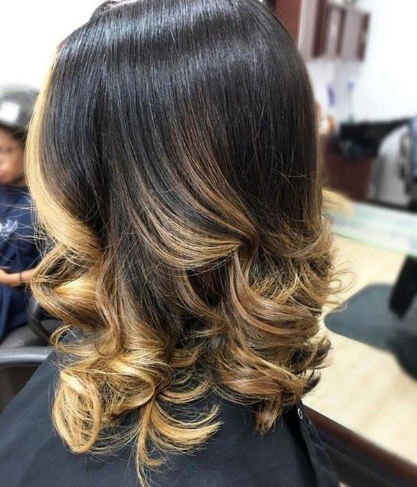 69 lindos penteados loira balayage você vai amar