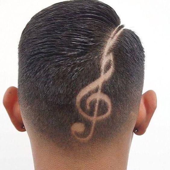 Temas de corte de cabelo loucos para caras modernos