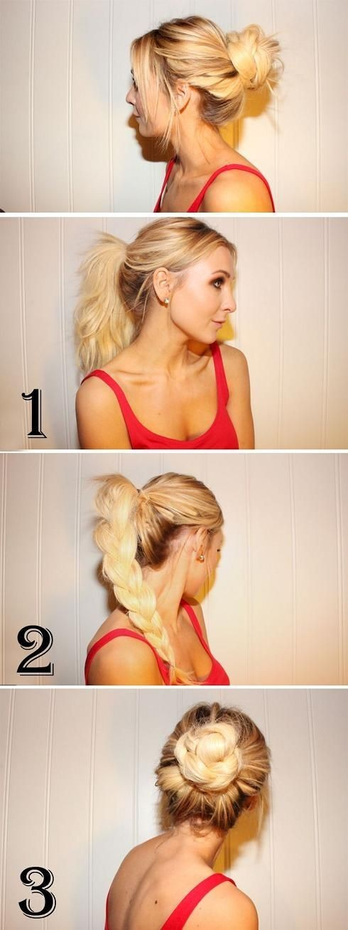 Incrível 5 bagunçado bagunça para cabelos longos de meninas elegantes