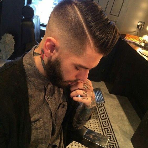 Tendências e estilos de corte de cabelo Hot Man 2018