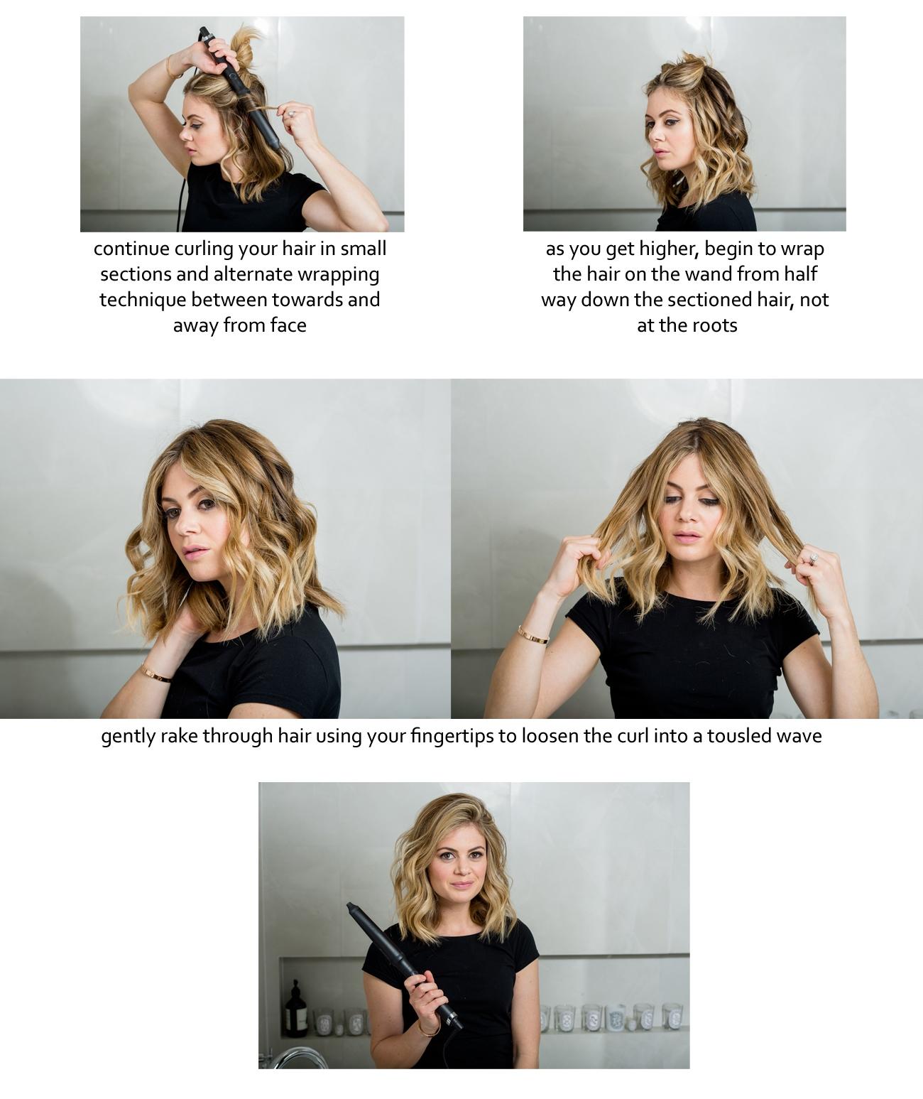 Idéias para obter cabelos de ondas Beachy estilo fino para meninas