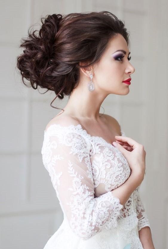 Penteados de casamento mais recentes para senhoras