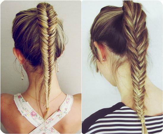 Mais na moda na moda sempre melhores penteados para as meninas da escola: