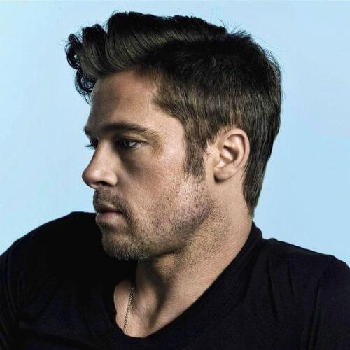 50 penteados diferentes de Brad Pitt