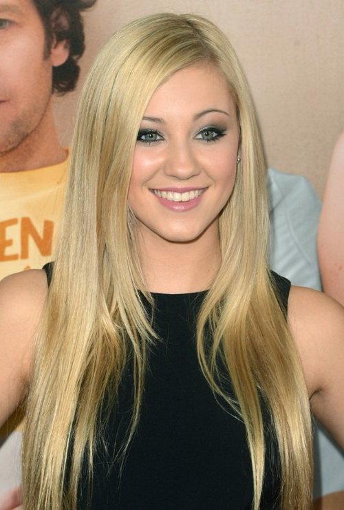Idéias de penteados bonitos para meninas adolescentes com cabelos lisos longos