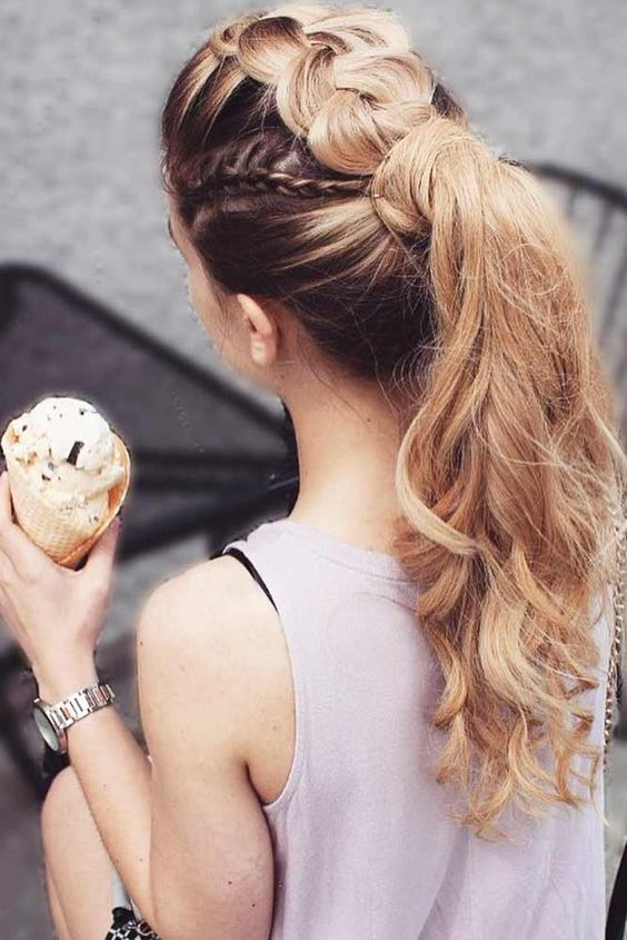 Idéias de penteado longo deslumbrante para raparigas 2018