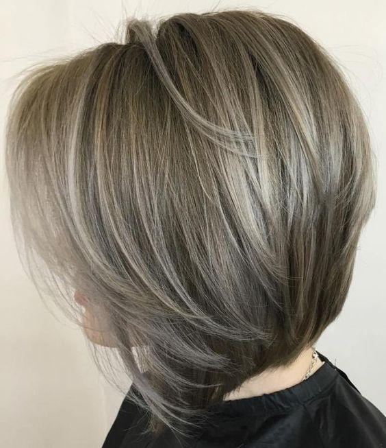 Mais fascínio e fácil de ajustar penteados de comprimento médio Bob