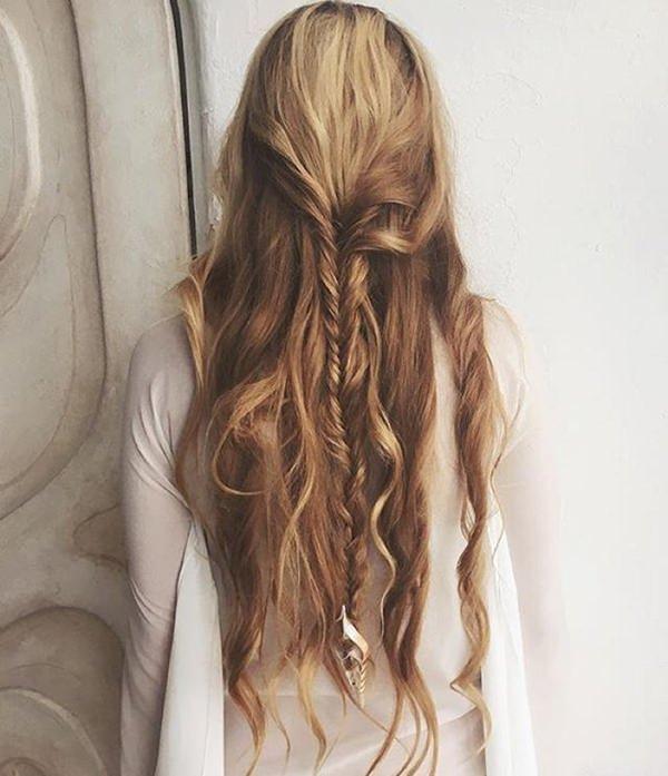 70 penteados de sereia de tirar o fôlego que são vibrantes