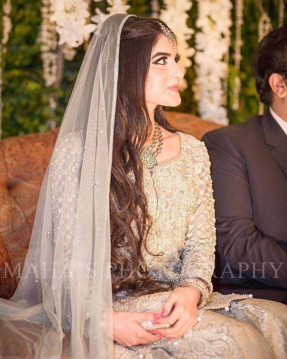 Idéias penteado em Walima para noivas