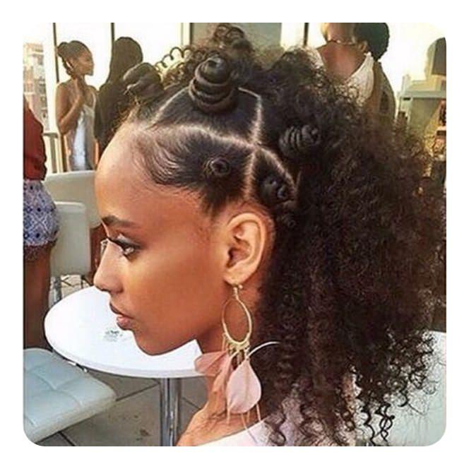 74 Cool Bantu Knots Penteados Com Como Tutoriais