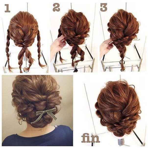 Penteados Fáceis E Simples Passo A Passo Para Cabelos Médios