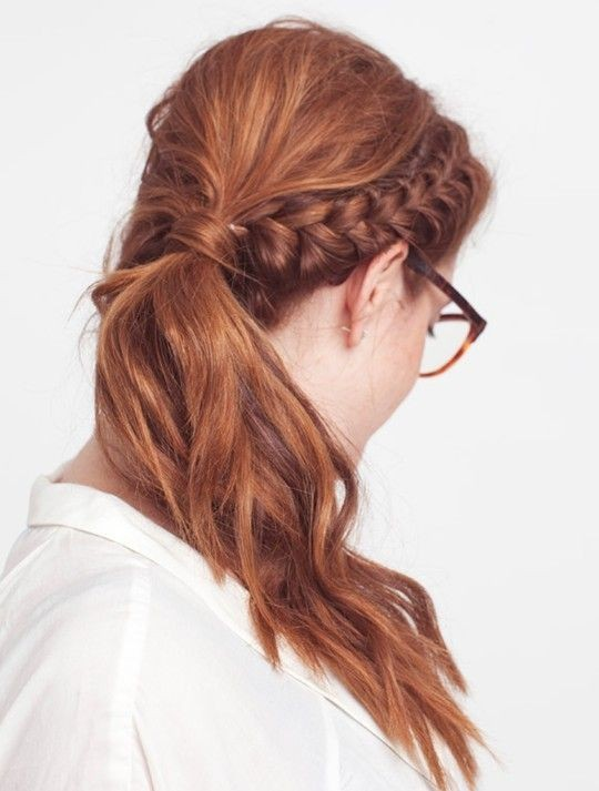 Penteados formais simples, elegantes e fáceis de meninas para eventos formais