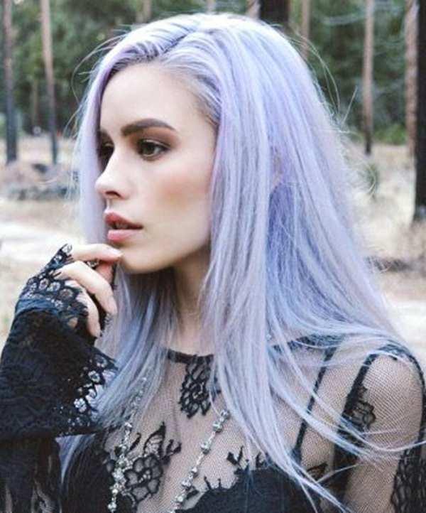 51 idéias de cabelo lilás bonito que vai agitar seu mundo