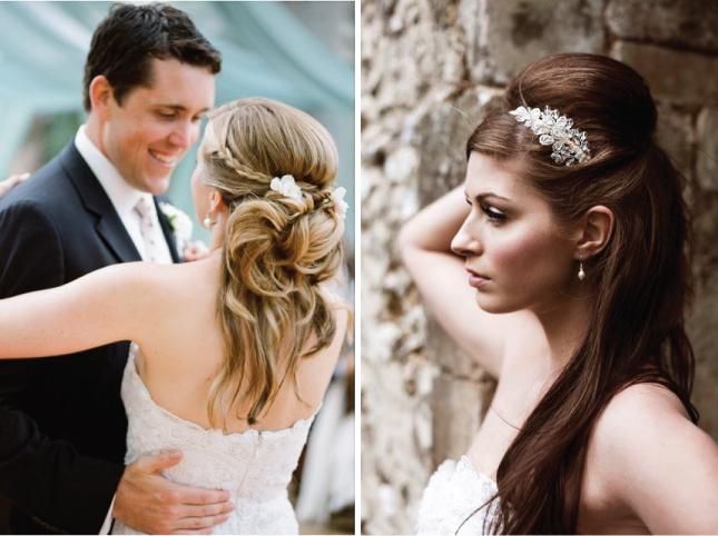A maioria buscando 5 Updos de noiva para o dia do casamento