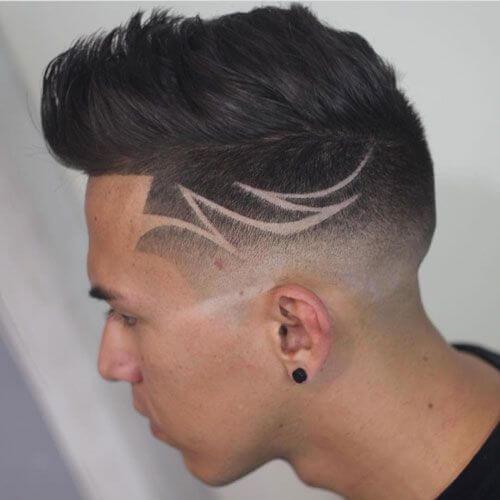 50 idéias de corte de cabelo de bom gosto Quiff