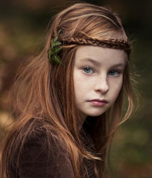 Buscando idéias de penteado para meninas bonitos