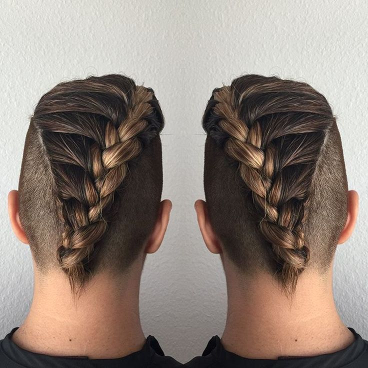 Penteados de trança linda para homens 2018