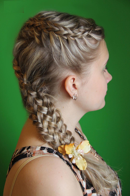 Top 8 penteados de tranças laterais para meninas