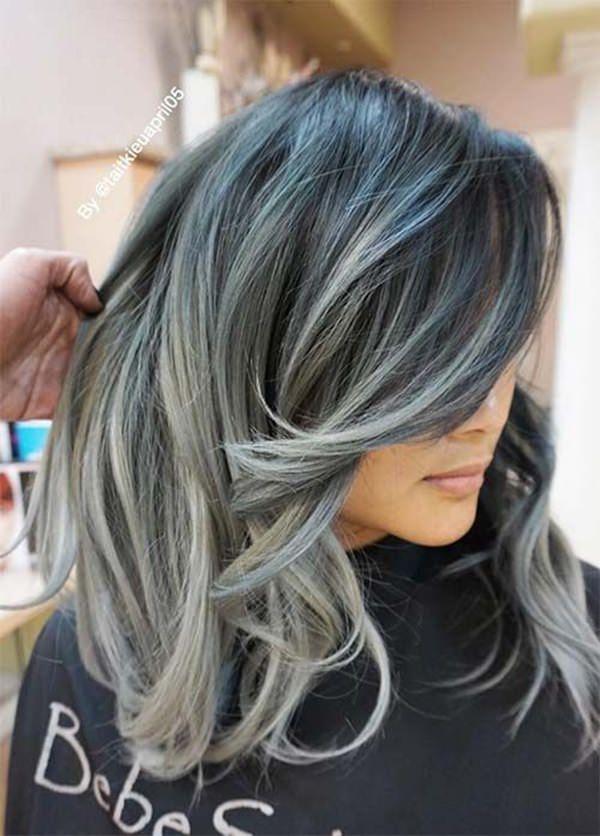 99 deslumbrantes penteados de raposa de prata