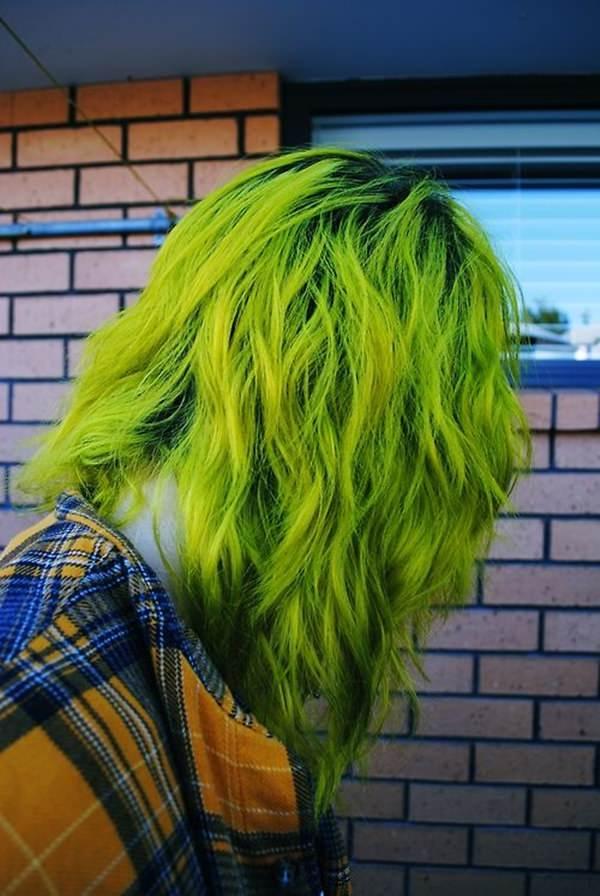 76 impressionantes idéias de cabelo verde que são a mente soprando