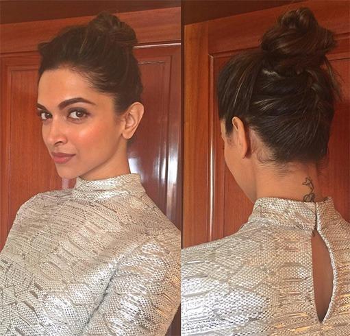 Penteados de assinatura Bollywood Hottie Deepika Padukon
