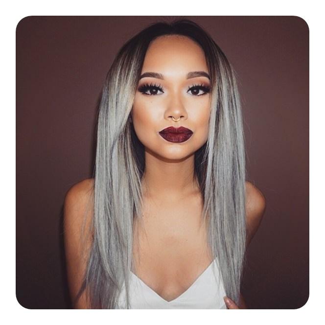 101 Awe inspirando tendências de cabelo cinza