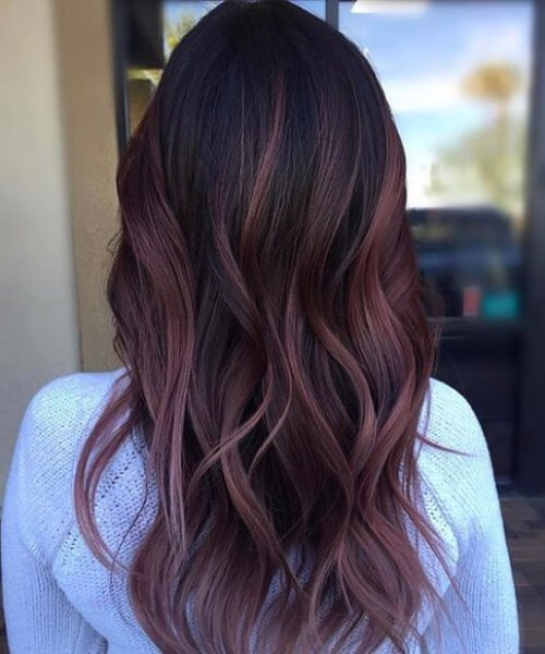 45 idéias de cor de cabelo de ameixa doce