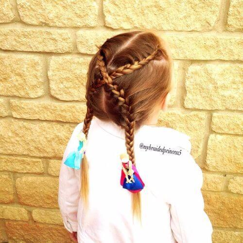Top 50 Little Girl penteados para qualquer ocasião