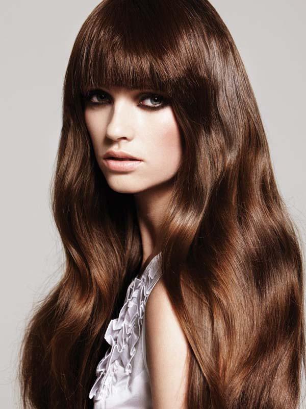 Diferentes tons de morena cabelo cor idéias para mulheres e meninas