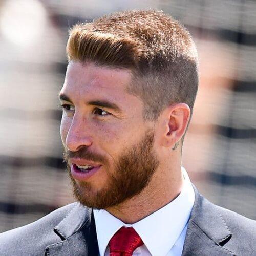 50 cortes de cabelo de Sergio Ramos