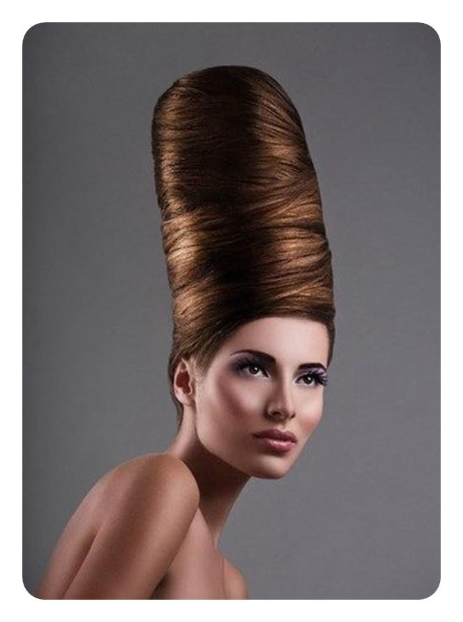 66 impressionantes penteados colmeia que vai te impressionar