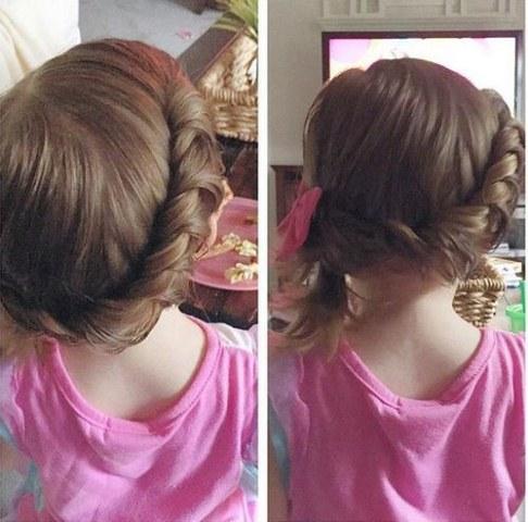 Meninas da criança New Hairstyle Idéias Criativas 2018
