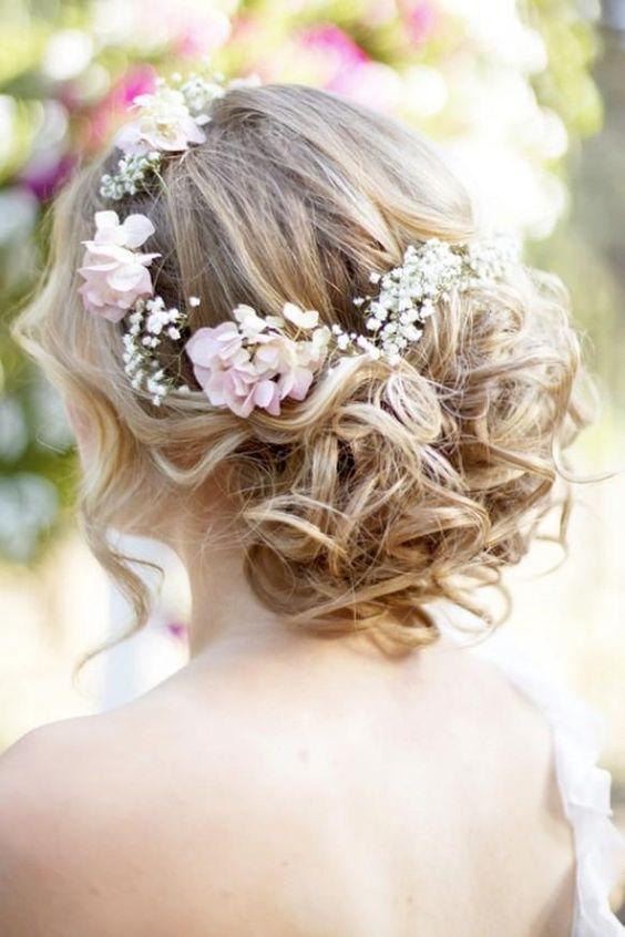 Penteados florais que são tão doces para a primavera