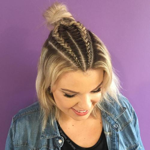 Idéias de penteado incrível cativante para senhoras Curvy 2018