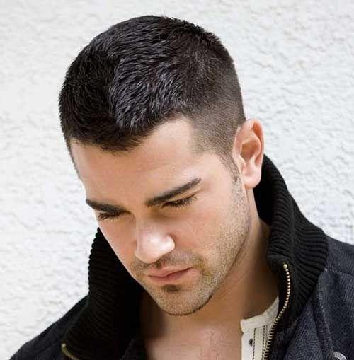 Short Forever Trendy Últimas Hairstyling Ideias para Homens:
