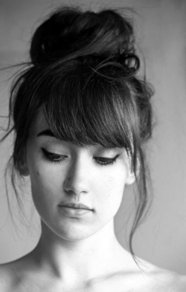 Superb Hairstyle Ideas With Bangs Para Meninas