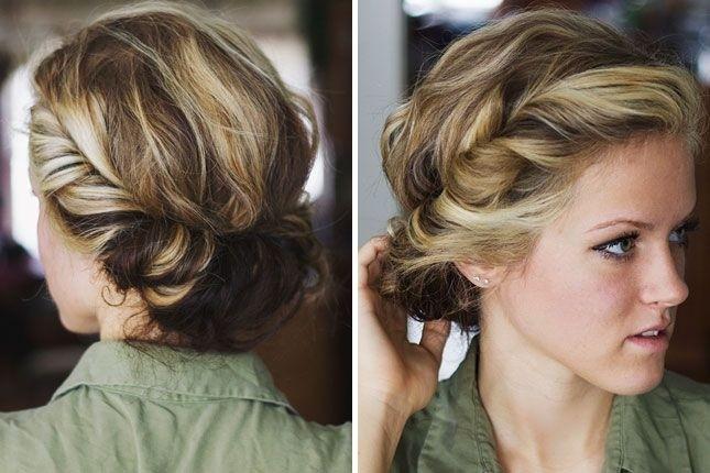 Chic Boho penteados da moda para as meninas