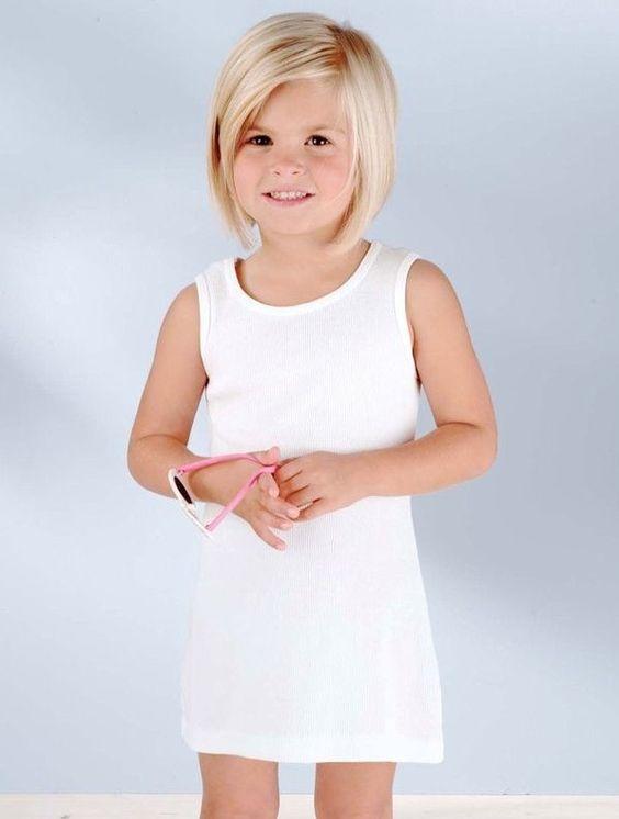 Penteado bonito e ultra moderno para crianças