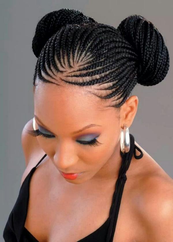 Penteados mais modernos com tranças