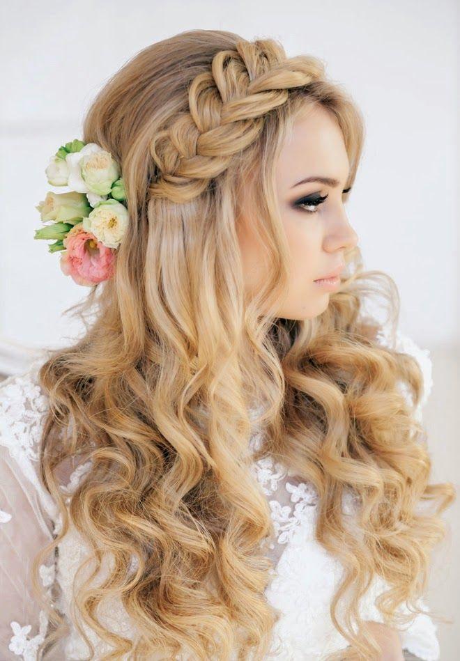 Idéias Penteados Trança No Casamento