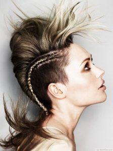 10 maneiras do punk para denominar seu cabelo sem corte ou cor