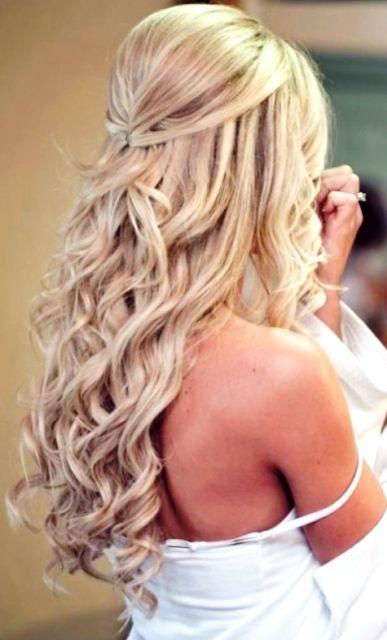 Idéias de penteado encaracolado meio para mulheres