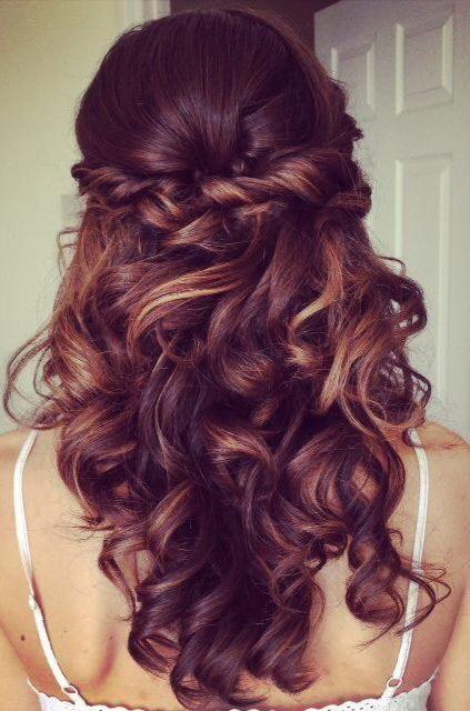 Idéias de penteado encaracolado