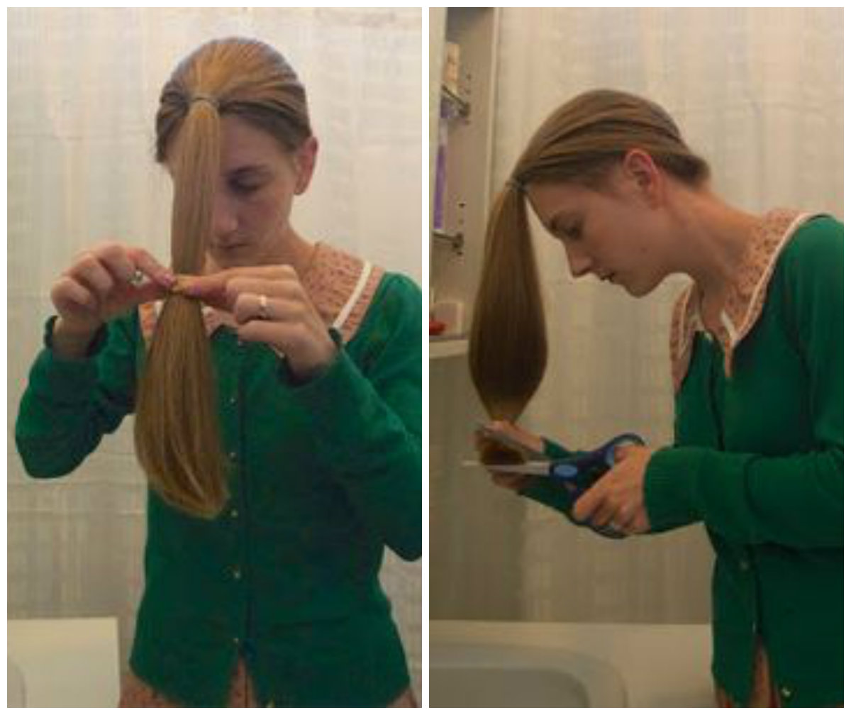 Técnicas simples para cortar seu próprio cabelo em camadas