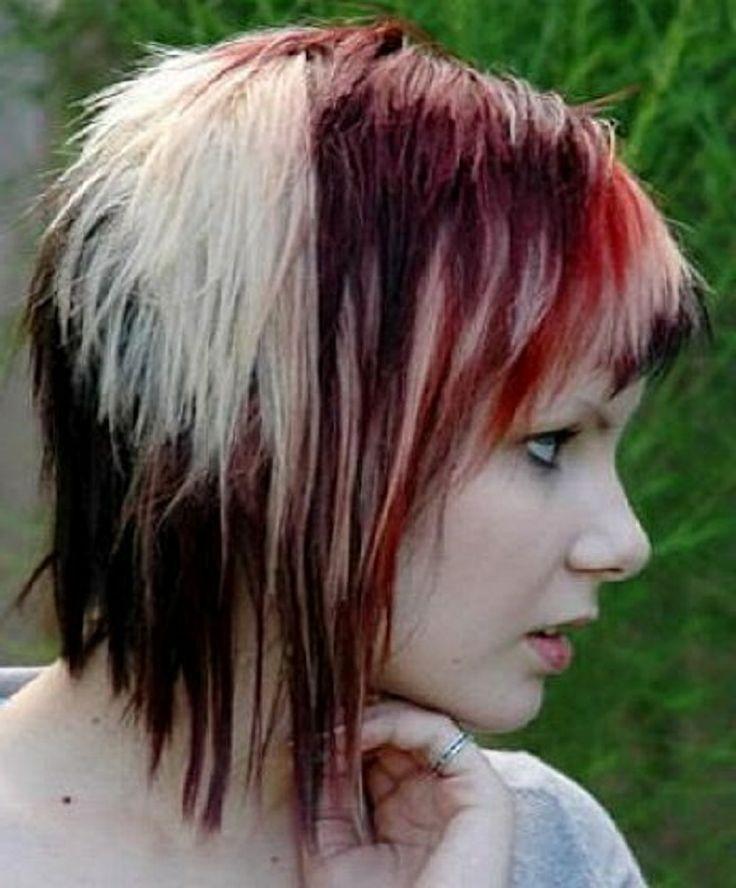 Últimas Ideias de Penteados Emo para Meninas no Natal